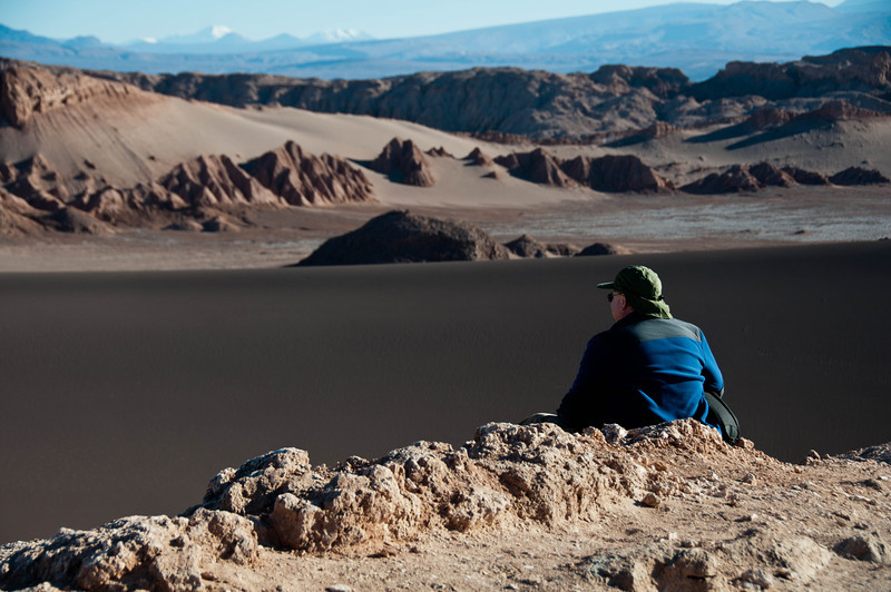 Mike and I hired a photography guide to take us around Chile's Atacama desert for four days. Our first stop was the Valle de la Luna (Valley of the Moon).