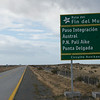 Susan and I rented a pickup truck in Punta Arenas, Chile and headed south to Tierra del Fuego.