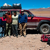 Our guide Raul and our driver Vicente. We had hired them for a five-day trip to the high Bolivian desert, in and near the city of Uyuni.