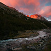 Sunrise in Torres del Paine.