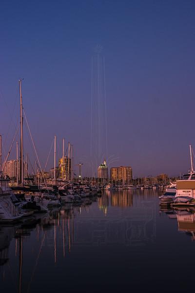 Long Beach Twilight.