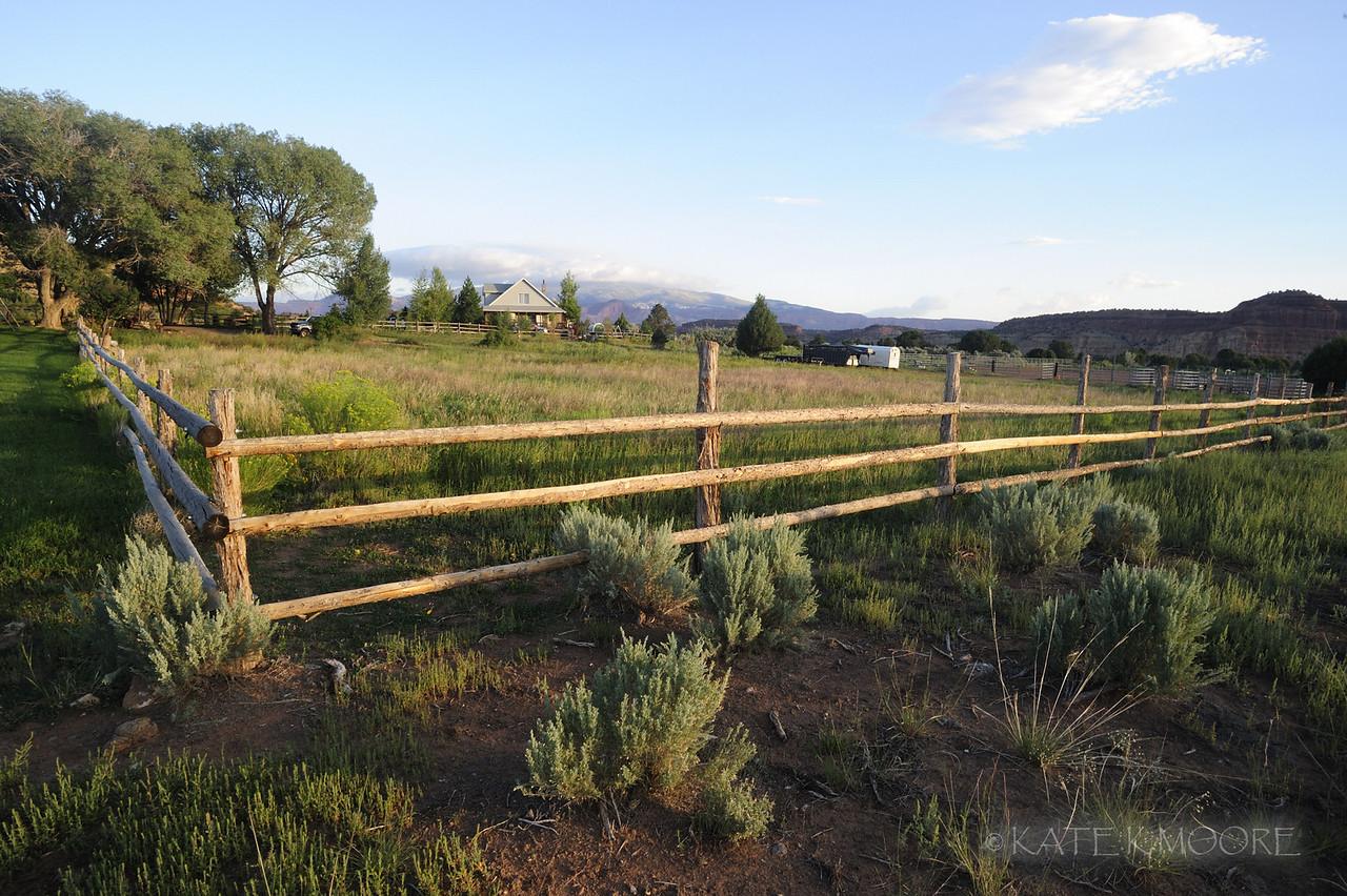 Cowboy Homestead cabin property, Torrey Utah