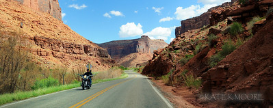 Scenic Hwy 128, outside Moab Utah