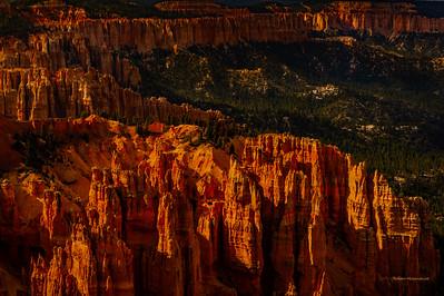 Hodoo Shadow play At Bryce Canyon