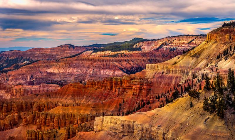 Beauty of Nature-Cedar Breaks National Moument