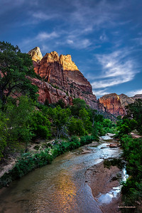 Virgin River-Zion National Park