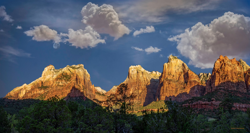 Court of the Patriarchs Zion National Park