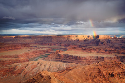 """Canyon Rainbow"" - Dead Horse Point State Park, UT"