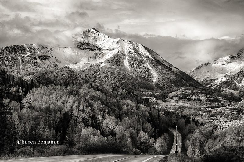 Road to Sunshine Mountain