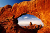 Turret Arch Thru North Window