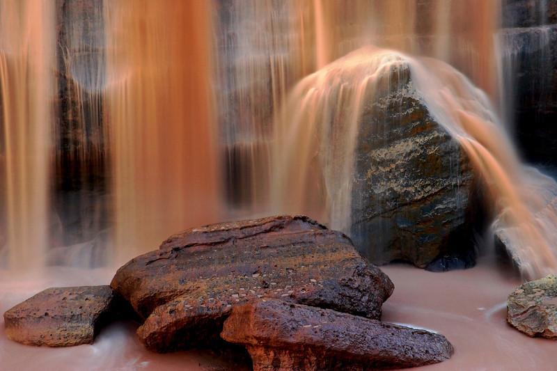 Grand Falls close-up