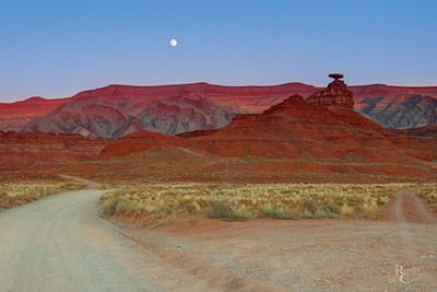 Twilight at Mexican Hat