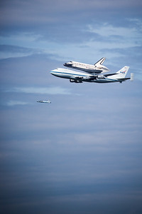 Space Shuttle Discovery Fly Over