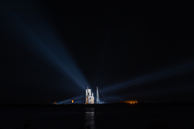 Launch of ULA's Delta IV Heavy Rocket / NROL 44 Mission