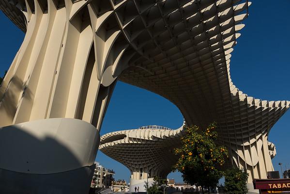 Metropol Parasol, El Centro, Sevilla (Photo credit: Teresa Kurtz)