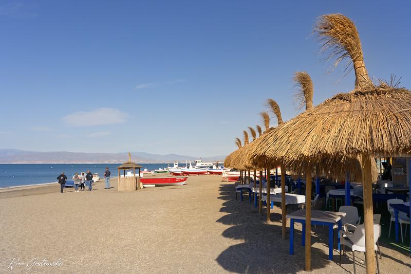 Beach restaurant, Cabo de Gata