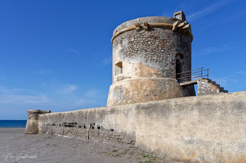 Torreon de Cabo de Gata, España