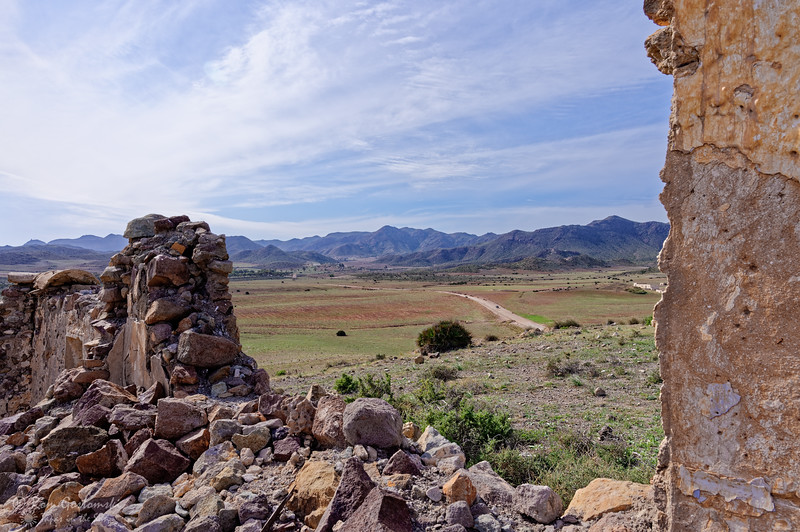 View from a ruin next to Molino del Callado de los Genoveses