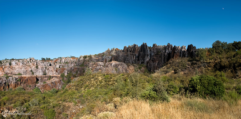Cerro del Hierro, Spain - panorama