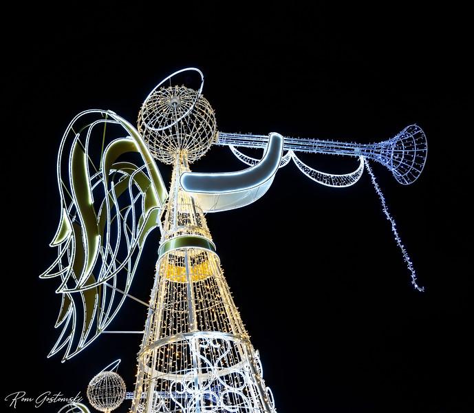 Christmas angel, Sevilla