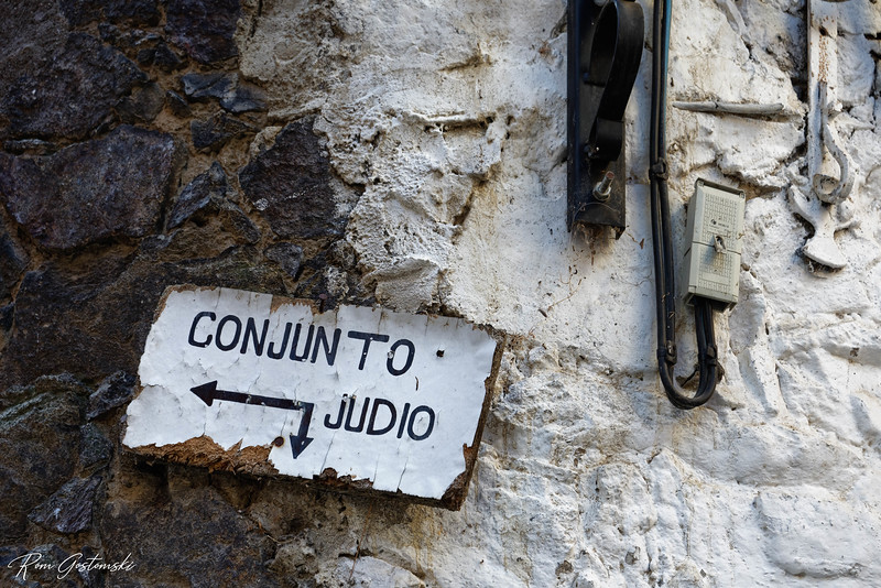 The way to the Jewish quarters