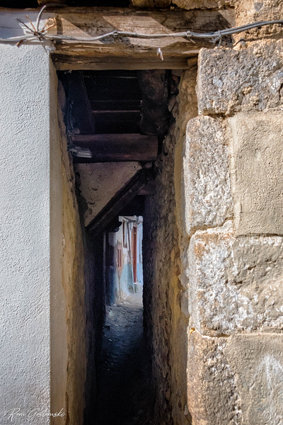 Is this the narrowest passage ever?