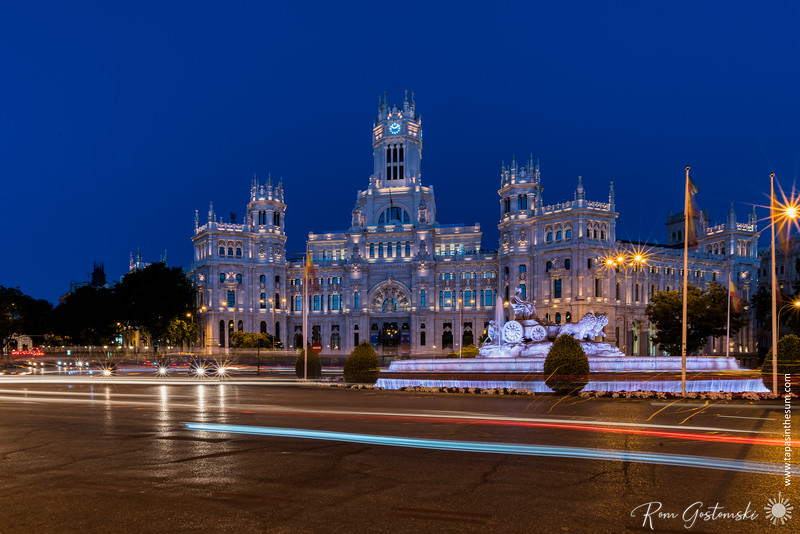 Plaza de Cibeles, Madrid