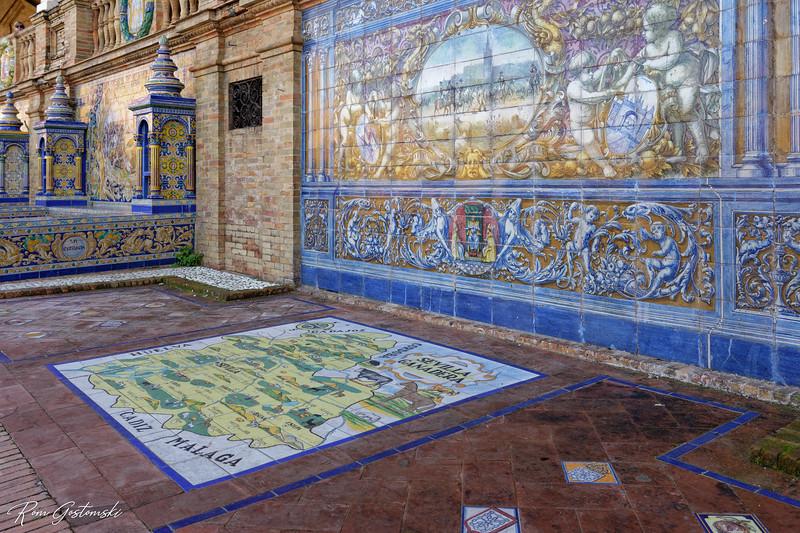 Placa de España, Sevilla