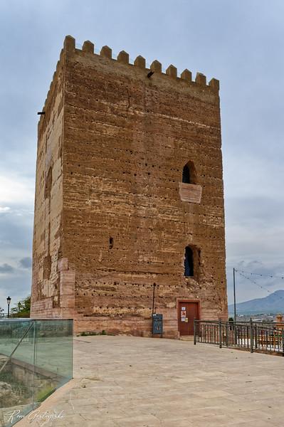 Plaza Castillo, Aledo, España