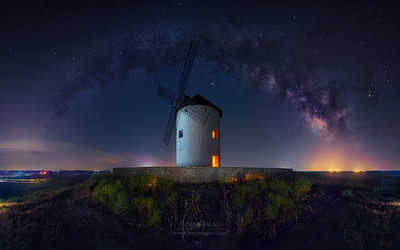 El Gigante y la Vía Láctea