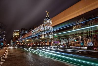 Madrid City Lights