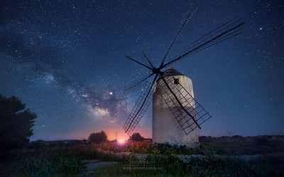 The Windmill and Milky Way II