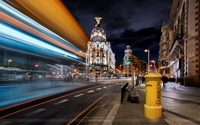 Madrid City Lights II