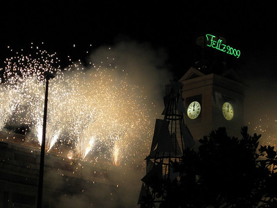 New Year's Eve, Madrid, Spain