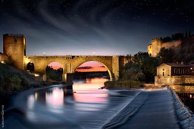 Toledo City at Night