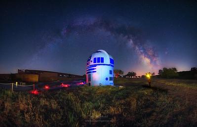 Milky Way over R2D2