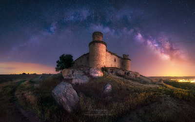 Milky Way over Barcience