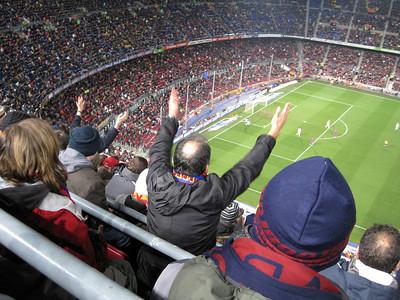 FC Barcelona vs. Majorca, Camp Nou, Barcelona, Spain