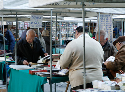 Coin Market, Barcelona, Spain