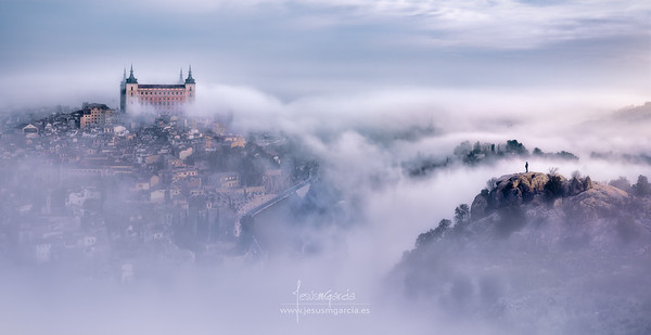 Toledo City Foggy Mornning