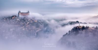 Toledo City Foggy Mornning