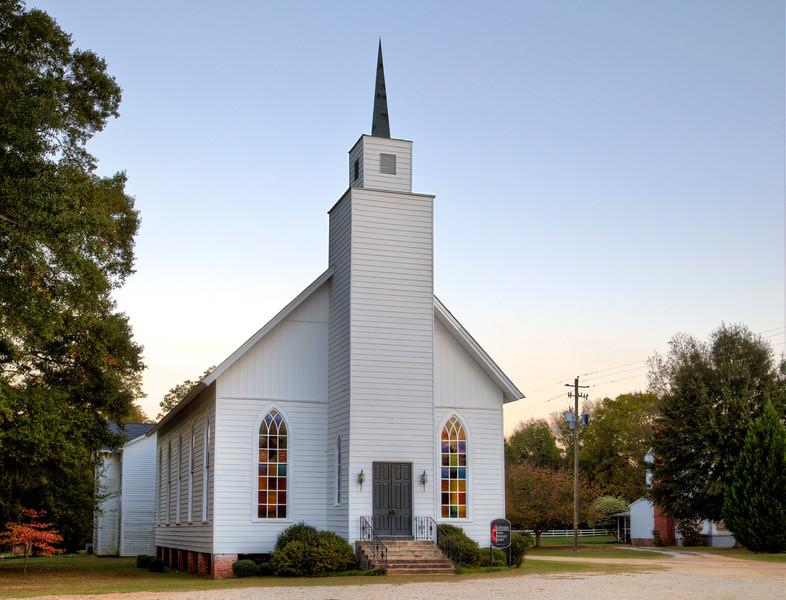 United Methodist Church, Lowndesboro, AL