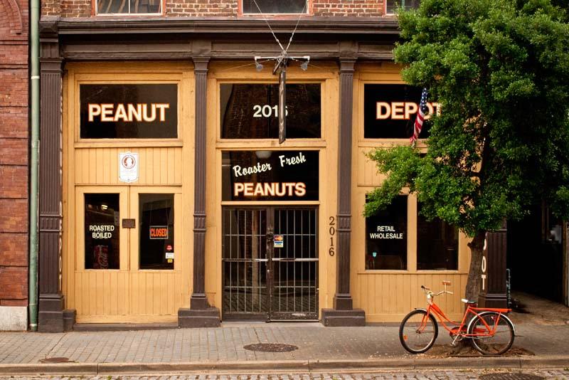 Peanut Depot and Bike