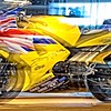 borisdatnow_Yellow bike in action
