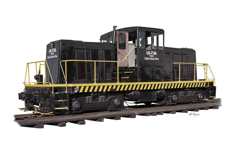 Tuscumbia Depot GE Locomotive