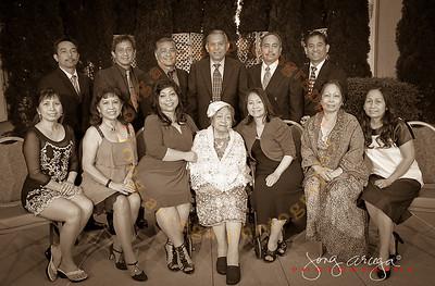 Dominada Balleza's 90th Birthday Celebration-Group Photo