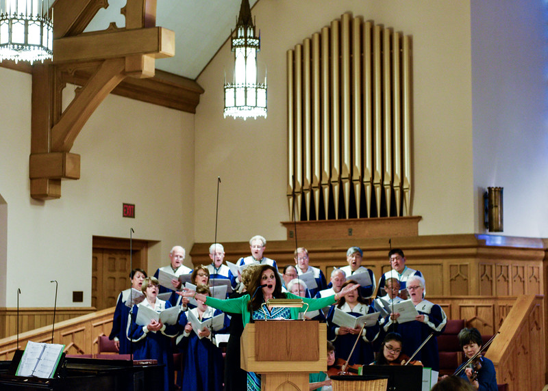 Choir of Our Lady of Mt. Carmel church