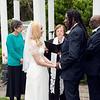 Lisa & Jabreel taking their vows