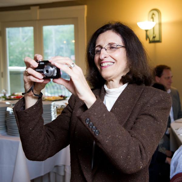 Maureen taking photos for HR