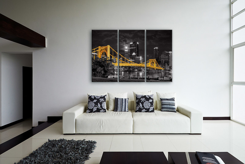 Purchase your Super Moon Selective Color Triptych  HERE